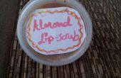 DIY amande Lip Scrub