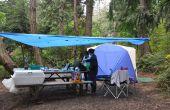 Comment faire pour voiture-Camp sous la pluie : 11 Lifehacks