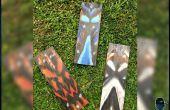 Créer des masques tribaux en bois simple