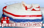 Comment faire un gâteau de bateau de vitesse