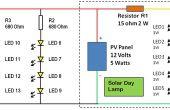 Le module LED pour lampe jour solaire