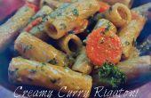 Crème Curry Rigatoni (pâtes de 16 minutes)