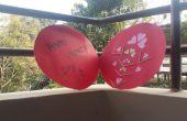 Carte de Saint Valentin amour