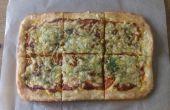 Super Fast Pizza à partir de zéro - aucun mixeur & facile recette propre