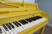Comment peindre votre Piano !
