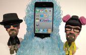 Le trône de Meth bleu charge station d'accueil pour iphone / Android