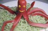 Déjeuner de poulpe & algues