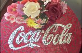 Make A Coca Cola mosaïque Table