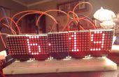 Horloge LED Matrix Arduino