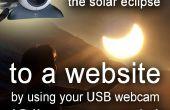 Comment diffuser l'éclipse solaire à un site Web avec une webcam USB (code source c#) 20 mars 2015 en