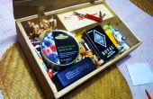Boîte à gants en bois (A.K.A occupé Kids Station)