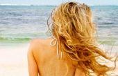 Comment faire pour obtenir des vagues de plage (sans chaleur)