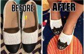 Cap Toe Shoes Chaussures Cat