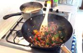 Thon en conserve Stir Fry