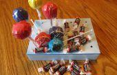 Tootsie Roll Cake Pops !