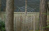 Spider Web jardin Art de perles