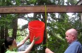 Seau à glace 9 étapes Rube Goldberg-style défi