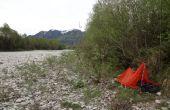 Petite tente d'urgence superlight