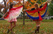 Les oiseaux de NattyJane d'un tutoriel de Costume de plumes