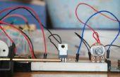 Potentiomètre de contrôle de vitesse du moteur Arduino DC