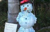 Décoration de Noël/vacances pour le bonhomme de neige (Floride) de fusion