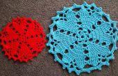 Crochet napperon/plancher tapis