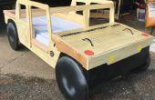 Humvee Toddler Bed avec coffre à jouets