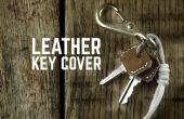Protège-clavier de cuir