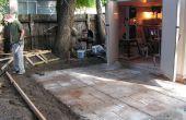 Comment faire un patio ciment nice