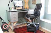 Chaise haute pour un bureau permanent