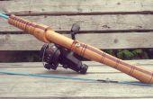 Poignée de la canne à pêche Composite en bois personnalisé
