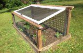Forteresse de jardin pour arrêter les cerfs et autres prédateurs de légumes