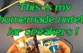 Haut-parleurs de maison Portable pot de Nutella !