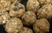 Beurre d'arachide au chocolat protéine boules