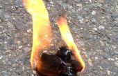 Comment faire un coton boule Fire Starter