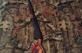Fusil de chasse en bois jouet