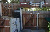 Single Gate Post avec mécanisme de verrouillage