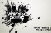 Comment faire pour Plasti Dip Jeep Wrangler roues (sans enlever les roues)