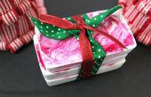 Idée de cadeau de vacances bricolage 10 minutes : savon menthe poivrée