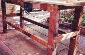 Récupéré le Workbench de bois dur
