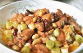 Comment faire cuire un plat de chinois traditionnel-Kung pao poulet