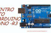 INTRO à l'ARDUINO UNO-R3