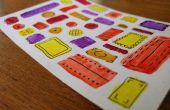 Carte postale couleur de l'eau
