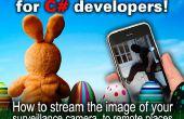 Appareil de bricolage streaming tutoriel pour les vacances de Pâques : Comment diffuser l'image de votre caméra de surveillance à des endroits éloignés (code source c#) en