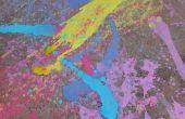 Peinture de craie de trottoir