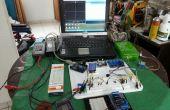 Portable et modulaire électronique Arduino expérimentateurs et réparation laboratoire mis en place.