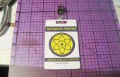 Badge personnalisé de ID