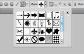 Créer une forme personnalisée dans Photoshop