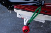 Chariot de kayak, petit, stockables, pas cher.