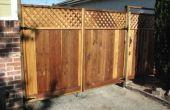Porte de remplacement de Sections de clôture